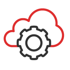 Hybrid Cloud Icon | Technetics Consulting Melbourne